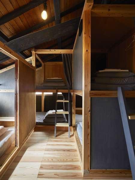 【男女共用 相部屋】2段ベッド【Mixed Dorm】Bunkbed