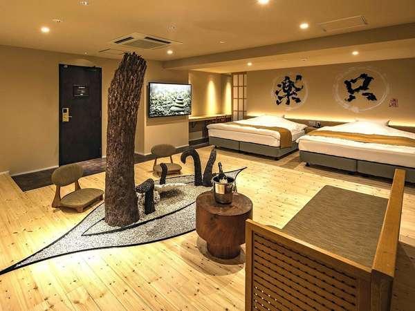 【スイートルーム】ゆったり空間と特別なバスルームで最上級の寛ぎを≪ブルガリアメニティ付≫