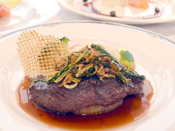 【じゃらん限定】フレンチディナー【肉料理が牛フィレ肉】にアップグレードが無料!ワンドリンク付