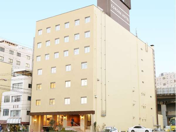 大阪コロナホテルの外観