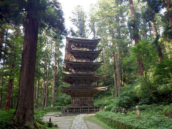 *【五重塔】羽黒山に来た際には、ぜひ参拝してみて下さい。