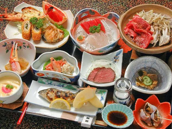 *旬の味覚をお楽しみ頂けるお食事です(一例)