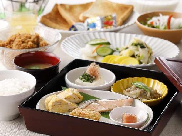 朝食時間6:00~9:30。日替わりの朝食イメージ♪☆スタッフの愛情入り手作り☆