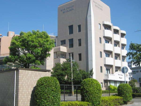 ホテルセンチュリー宮崎の外観