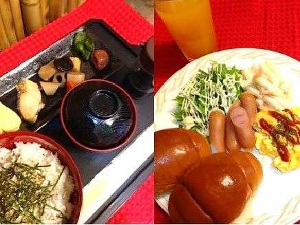 和洋で選べる朝食は手作り♪和食の和歌山辰々浜産の「しらす丼」は大好評~♪