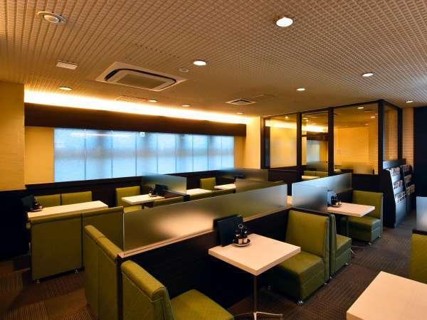【レストラン樹林】お食事は当ホテルの1階のレストランへどうぞ。