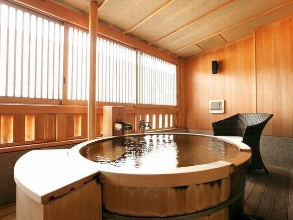 【当館一番人気!】源泉かけ流し露天風呂付客室
