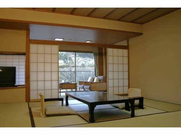 【内風呂付和室】狩野川を見下ろす落ち着きのある純和室