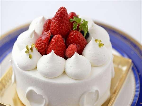 【記念日に最適:特典付】ホールケーキとシャンパンで特別な日をお祝い♪