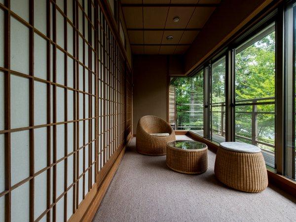【1室限定:香月】 源泉100%内風呂付き広めの和室15帖 -2階-