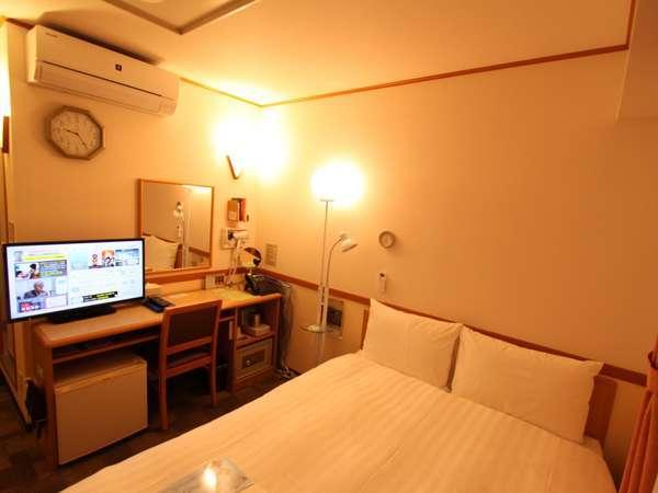 【エコノミーダブル】夜シングルの部屋を2名でお使いいただきます。
