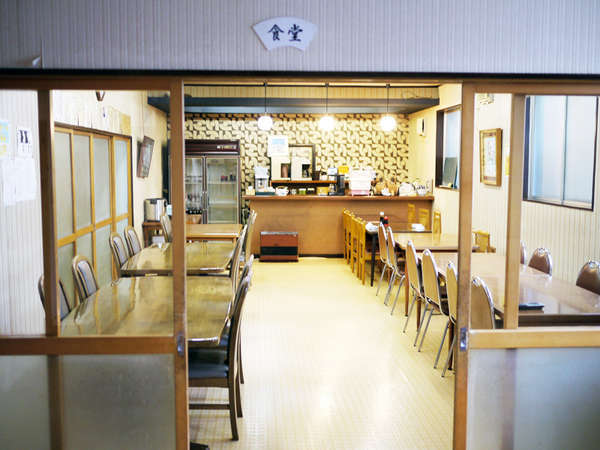 *食堂/夕食・朝食共に、食堂でご用意いたします。ごゆっくりお食事をお楽しみください。