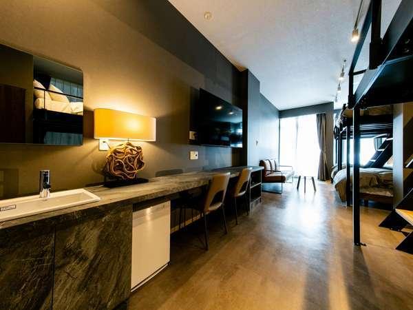 101号室 Milano - Urban Comfort広さ75平米、最大14名様でご利用可能です。