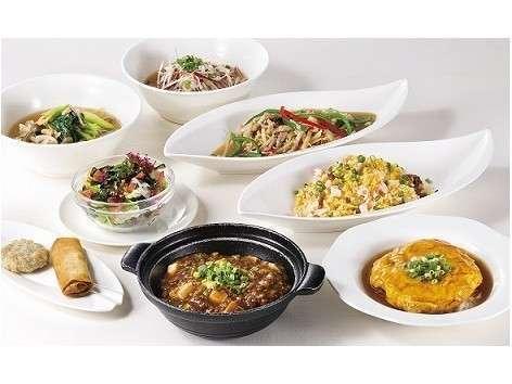 ご宿泊者限定!中国料理「南園」麺・飯えらべる『夜ごはんセット』付プラン(ご夕食付)