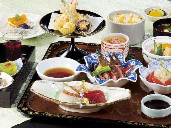 【ご宿泊者様限定】 日本料理みやま「やまぶき」ディナー付プラン(夕・朝食付)