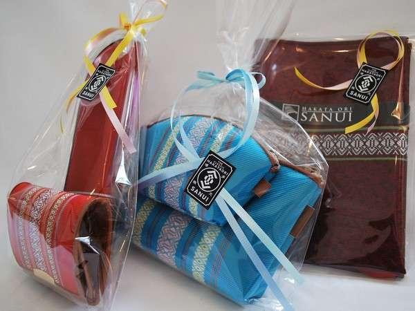 選べる博多織土産付【サヌイ織物】福岡旅行の記念にどうぞ!※チェックイン時に選べます※