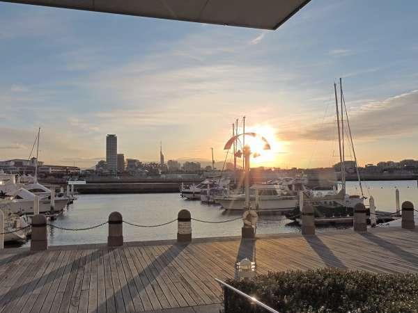 【 高層階確約 】室数限定!博多湾を見渡すオーシャンビュー/朝食付