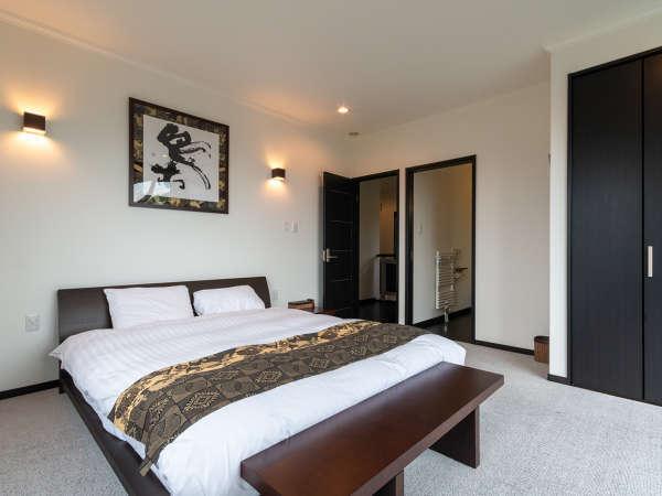 欧米仕様のベッドルーム