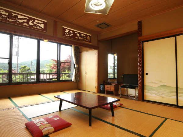 連休も【密回避】広々とした和室10畳のお部屋です。