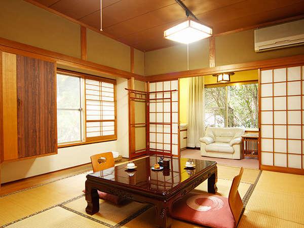 居心地の良い純和風の客室