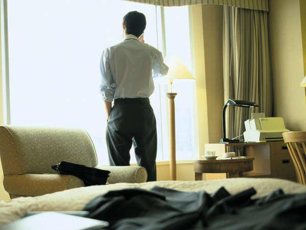 【インターネット接続無料】21時迄チェックインOK♪ビジネス応援プラン<朝食付き>