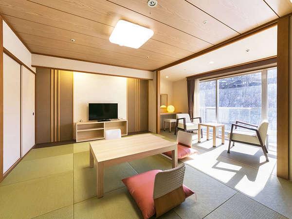 大自然と野天風呂のリゾート 蓼科グランドホテル 滝の湯 関連画像 2枚目 じゃらんnet提供