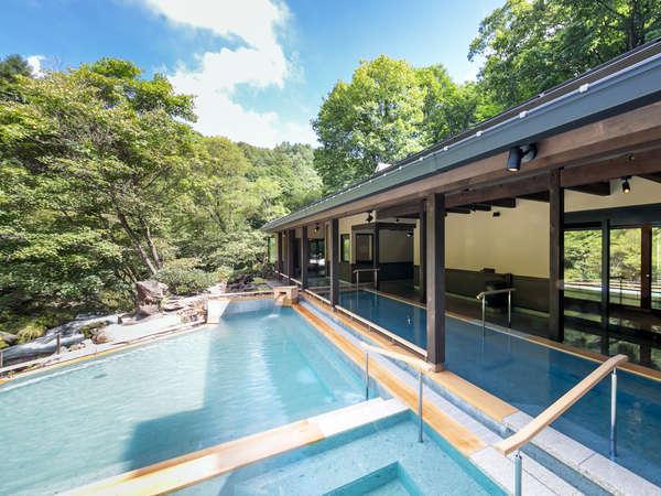 大自然と野天風呂のリゾート 蓼科グランドホテル 滝の湯 関連画像 4枚目 じゃらんnet提供