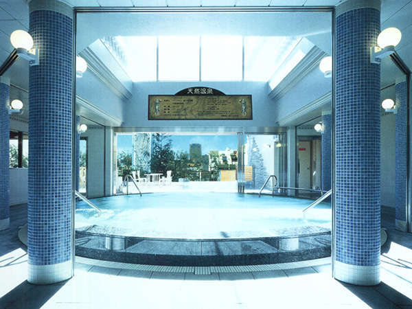 ヨーロッパのスパリゾートを思わせる、広々とした大浴場「ハンガリアンバス」