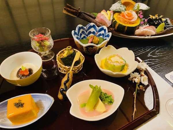冬のお夕食:前菜(一例)