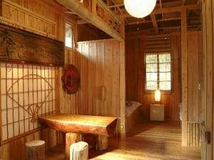【和風コテージ】いやされの空間で、長旅の疲れをゆっくりと癒してください/部屋一例