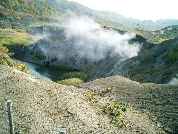 西山火口散策路に一番近い宿