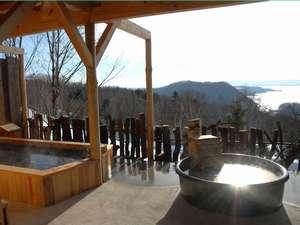 北海道の紅葉スポット近くの温泉宿・紅葉露天のある宿 オーベルジュ 北の暖暖