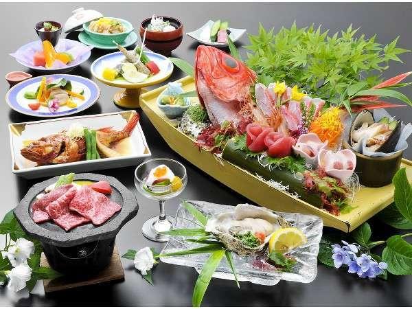 【一番人気!】 迷ったらコレ!旬感!月浜海食膳
