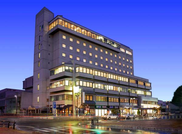ホテルモントビュー米沢の外観