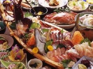 新鮮さが自慢の地魚をボリュームたっぷりに。