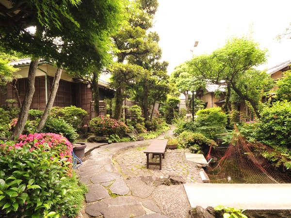 季節によって違った表情を見せる庭園。