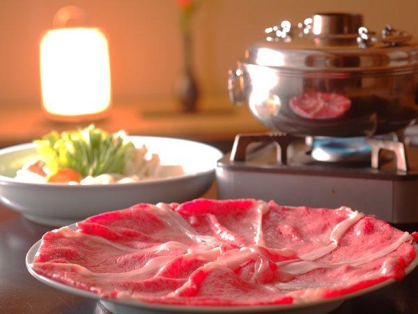 【追加料理】「前沢牛しゃぶしゃぶ」※1人前 5,400円(2名様分から受付)