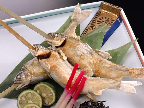 【追加料理】「鮎の塩焼」※1本 1,250円