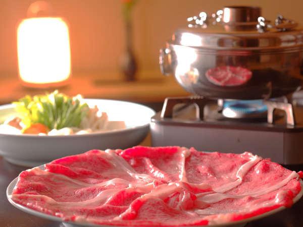 とろける舌触りが絶品の「前沢牛」をしゃぶしゃぶでお召し上がり頂けます,