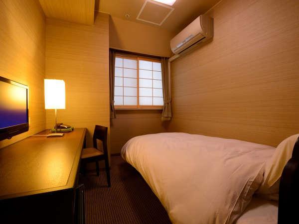シングルルーム(禁煙) ※景色は楽しめませんが、リーズナブルにご利用いただけるお部屋です.