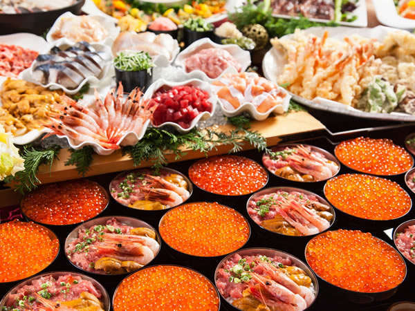 『イヤーエンドブッフェ2017〜洗練された料理を楽しむ、贅沢なひととき〜』ご宿泊プラン(夕・朝食付き)