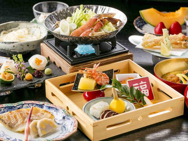 【夕朝食付き!】日本料理「さくら」で優雅に楽しむ 選べるディナー付き宿泊プラン
