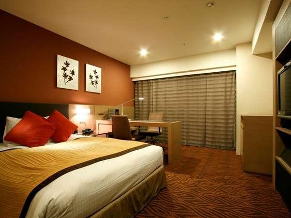 【早割 素泊まり】28日前までの予約でとってもお得!全部屋24平米以上 ベッド幅140cm以上確約!