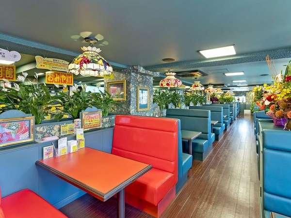 ホテルレストランは函館の人気チェーン「ラッキーピエロ」