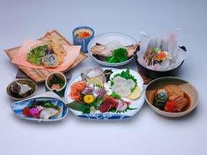 藤井荘夕食の一例