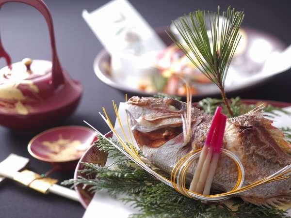 【焼き鯛とお祝い膳で】ご長寿のお祝いサポート6大特典付きプラン