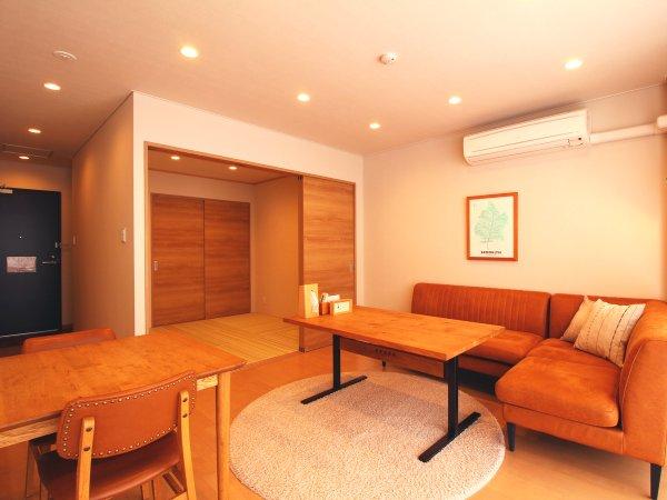 【コンドミニアムマイクロタイプ】和室6畳と洋室のお部屋です。