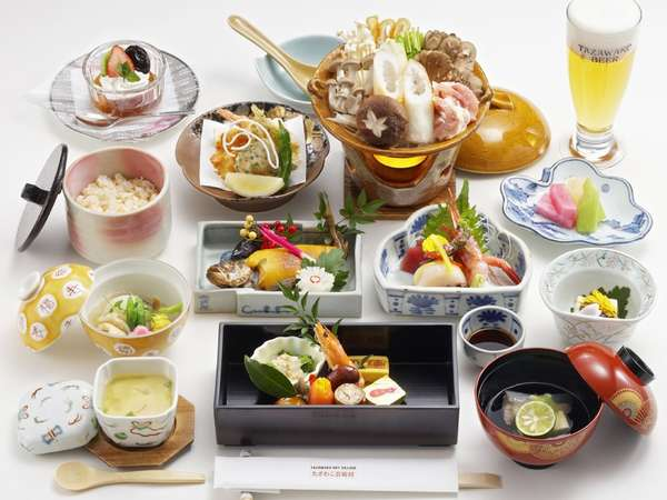 【じゃらん冬SALE】天然温泉と季節の和膳を楽しむ1泊2食ライトプラン