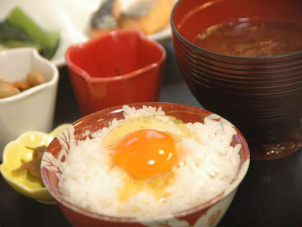 【比内地鶏の極上たまごかけご飯が大人気!】温泉ゆぽぽ1泊朝食プラン