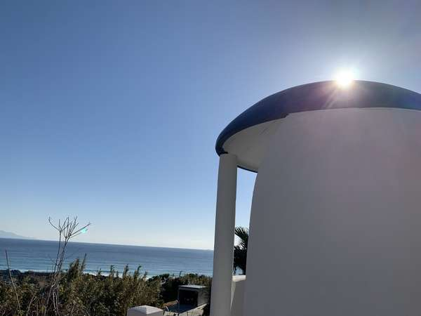 ギリシャ サントリーニをイメージした展望台が2019年1月グランドオープン。インスタ映えスポットです。